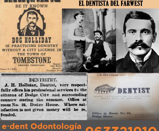 Doc Holliday el dentista del FarWest